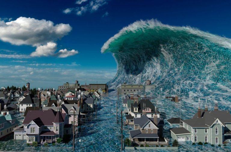 Sonhar com Tsunami