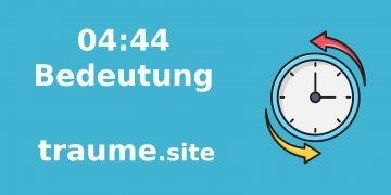 Bedeutung von Nummer 04:44 48
